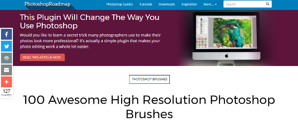 13 best websites to download photoshop brushes