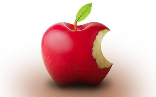 Actual apple logo - photoshop 3d tutorials