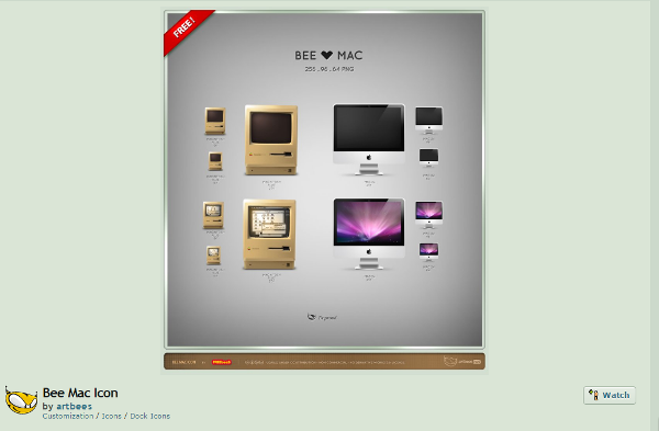 beautiful Mac icon sets