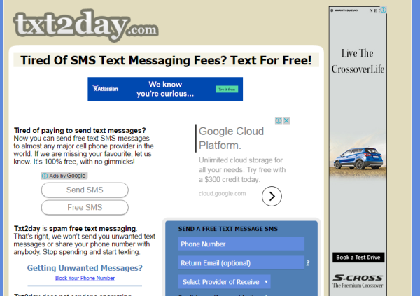 35 websites to send text message online for free