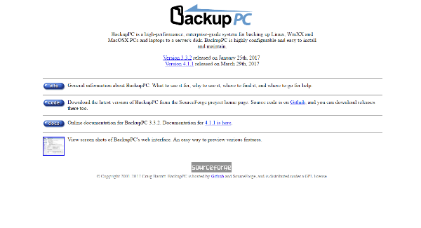 free backup tools for linux
