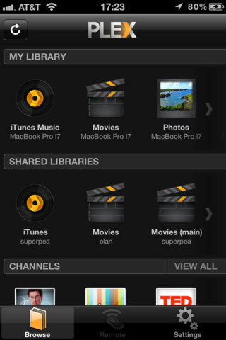 Plex app for android - streaming Videos