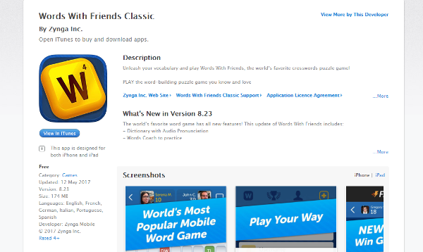 Games for iPhone