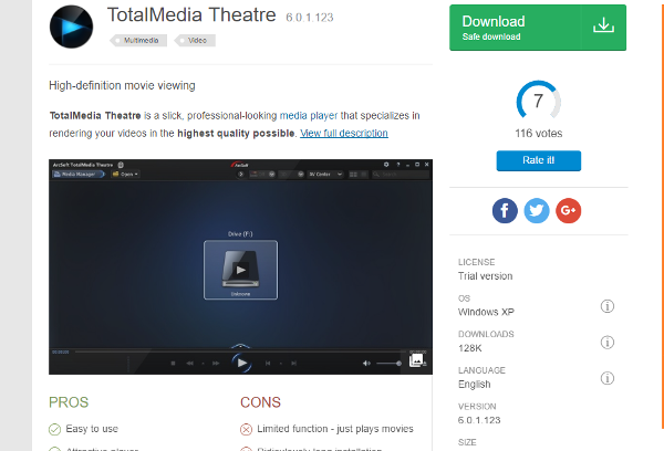media player for windows 8