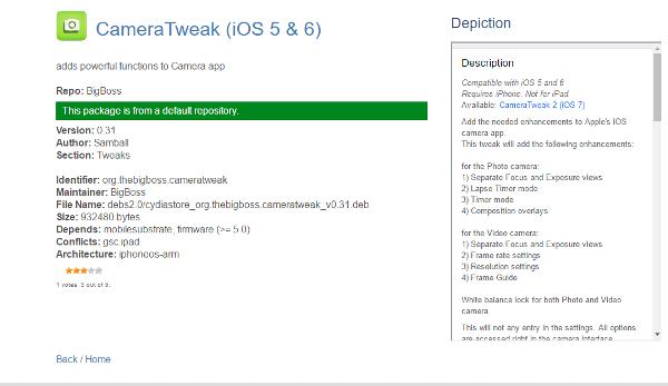 Cydia Tweaks