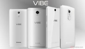 Lenovo Vibe range of  new phones