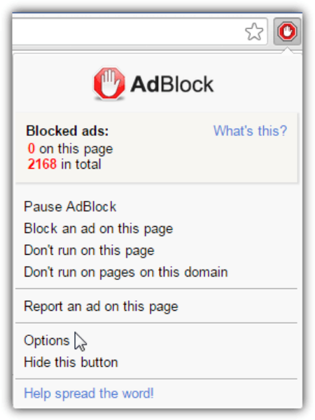 ad blocking extensions