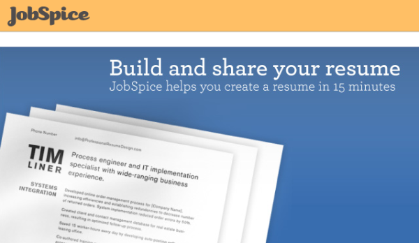 online tools to create professional resume