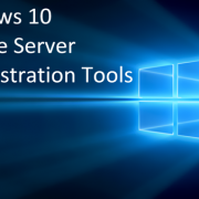 Windows Server Administration Tools